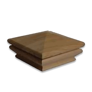 IPE Hardwood Pyramid Post Cap