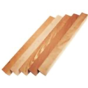 Image of blank wood stock turning squares