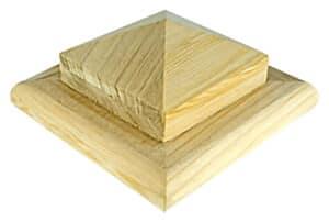 "Newel ""B"" Style Pyramid Post Cap, Corner Angle"