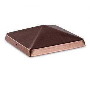 Woodway Copper 4x4 Cottage Crown PostCap